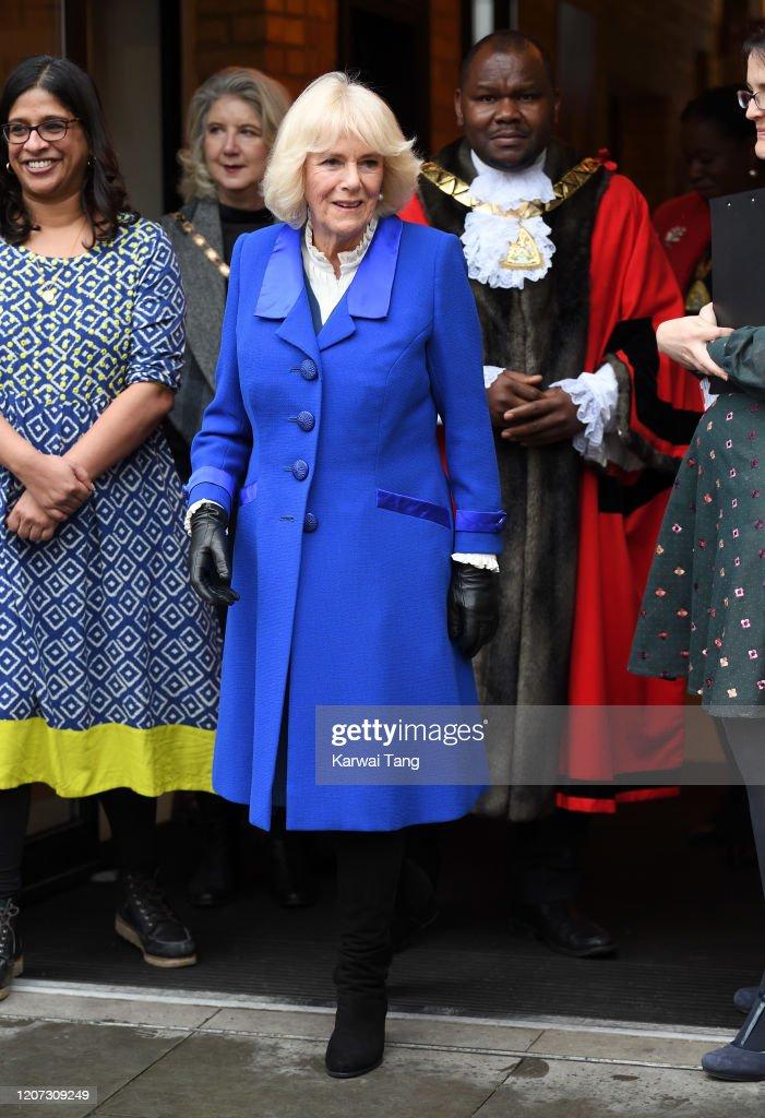 The Duchess Of Cornwall Visits Brent, The London 2020 Borough Of Culture : Fotografía de noticias