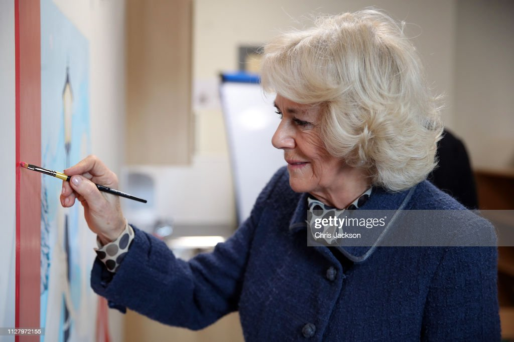 GBR: The Duchess Of Cornwall Visits South London