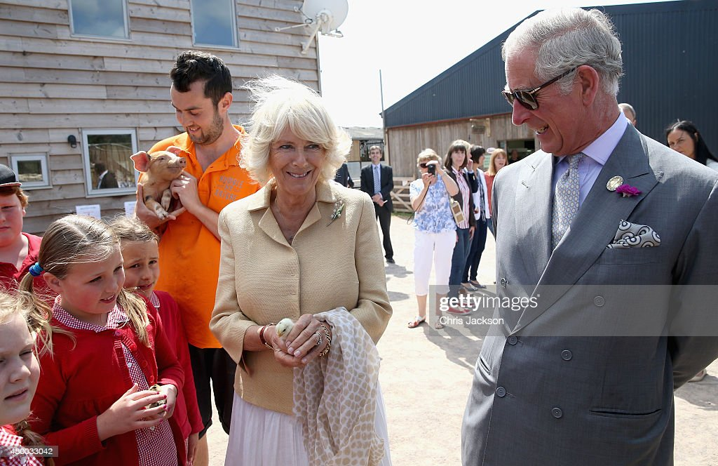 The Prince Of Wales & Duchess Of Cornwall Visit Wales - Day 4 : News Photo