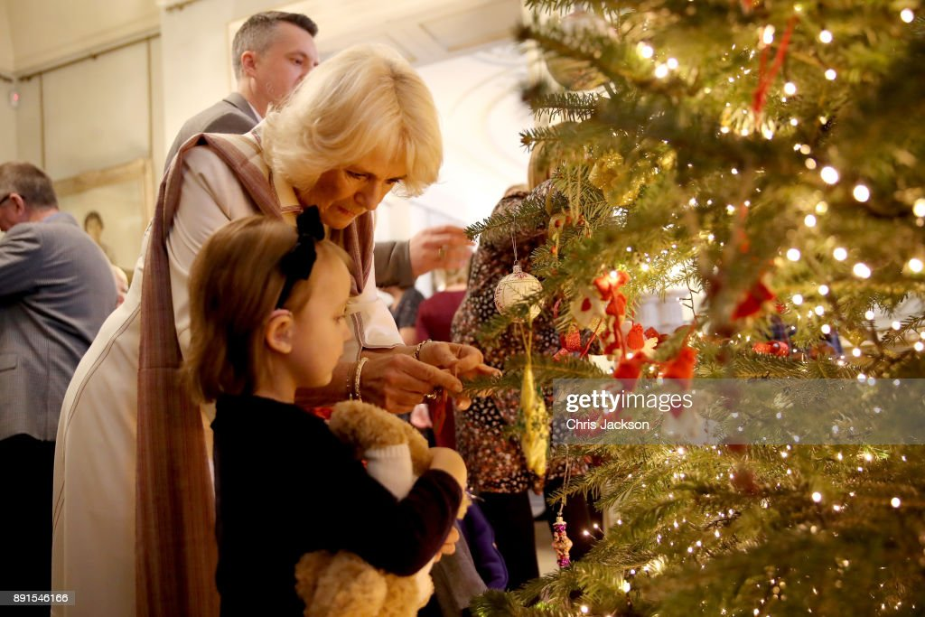 Clarence House Christmas Tree Photocall