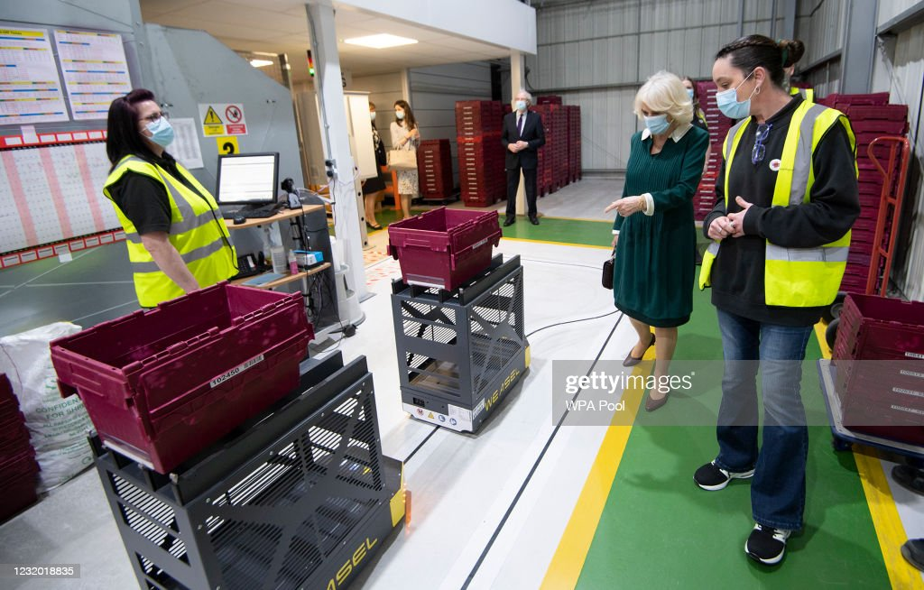 The Duchess Of Cornwall Visits East Sussex : News Photo