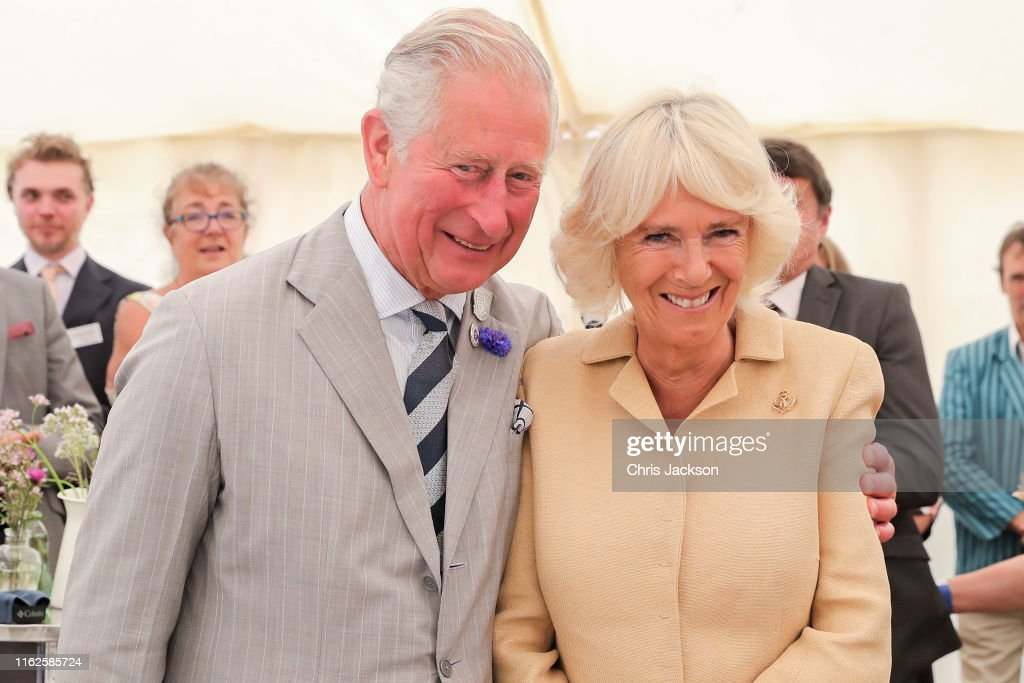 The Prince Of Wales & Duchess Of Cornwall Visit Devon & Cornwall - Day 3 : News Photo