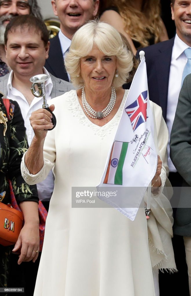 The Duchess Of Cornwall Launches The Elephant Family's 'Concours d'elephant'