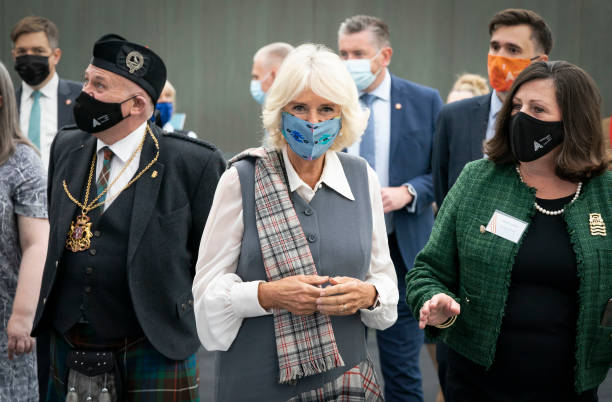 GBR: Prince Charles And Camilla Visit Aberdeen