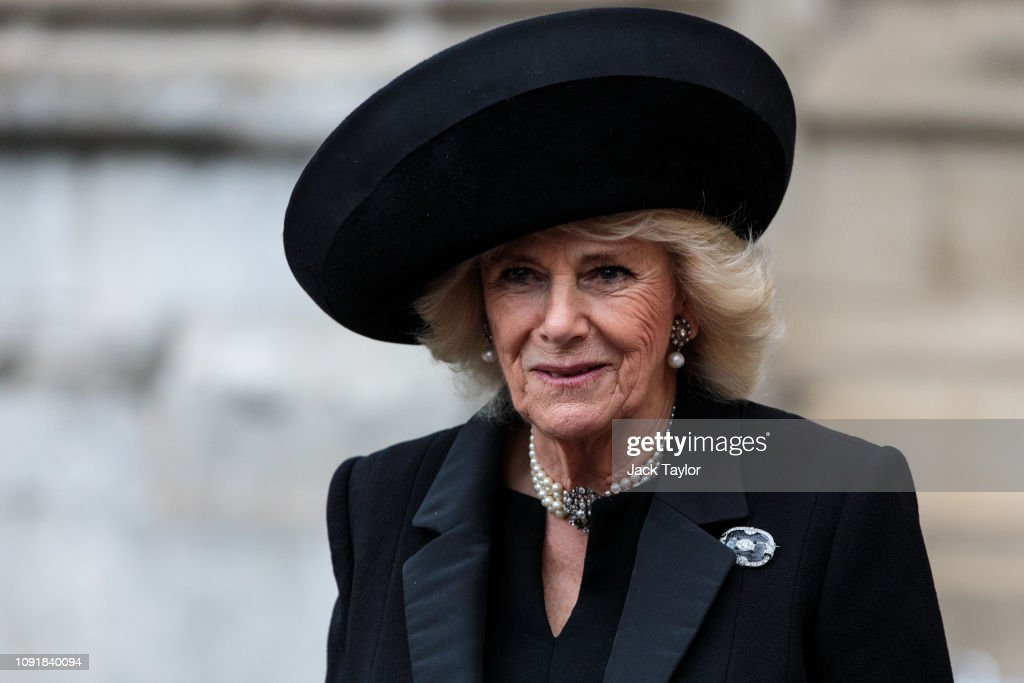 A Memorial Service Is Held For Conservative Peer Lord Carrington : Nachrichtenfoto