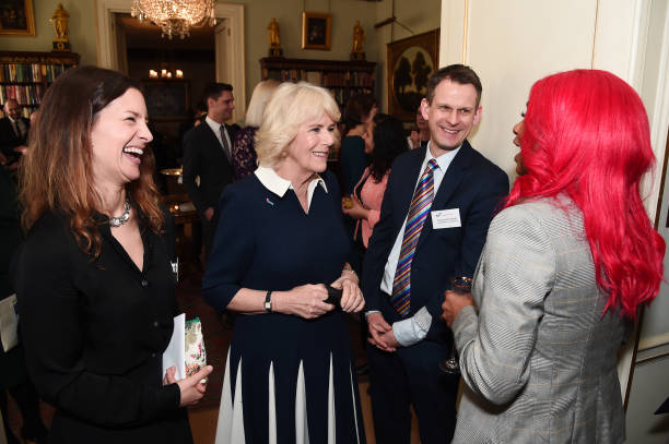 GBR: The Duchess Of Cornwall Hosts A Reception To Acknowledge The 15th Anniversary Of Domestic Abuse Charity SafeLives