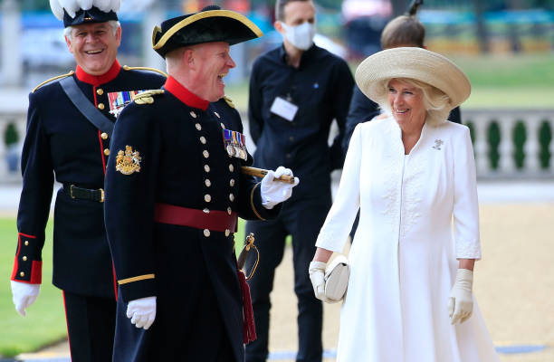 GBR: The Duchess Of Cornwall Visits The Royal Hospital Chelsea