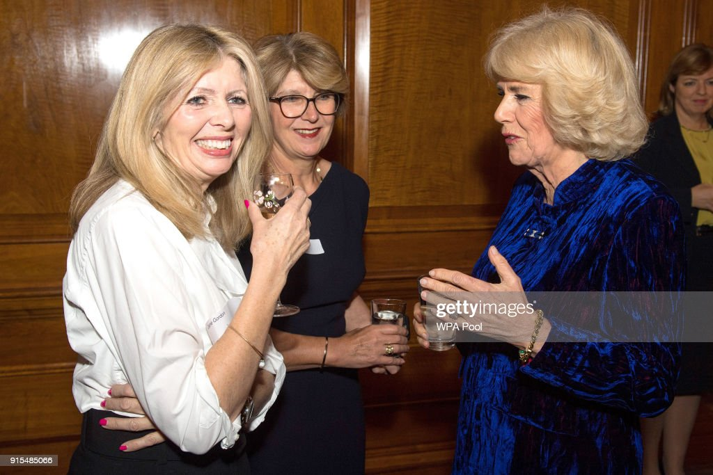 The Duchess Of Cornwall Attends The 'Women in Journalism' Reception