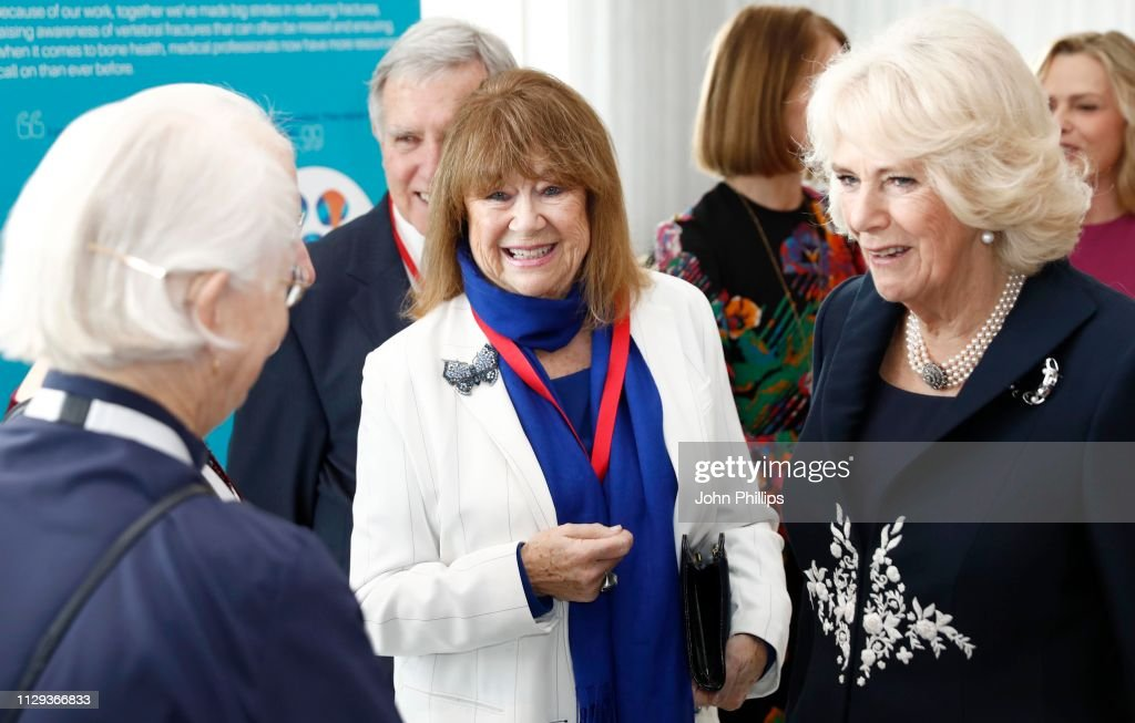 The Duchess Of Cornwall Attends The Launch Of The Royal Osteoporosis Society : News Photo