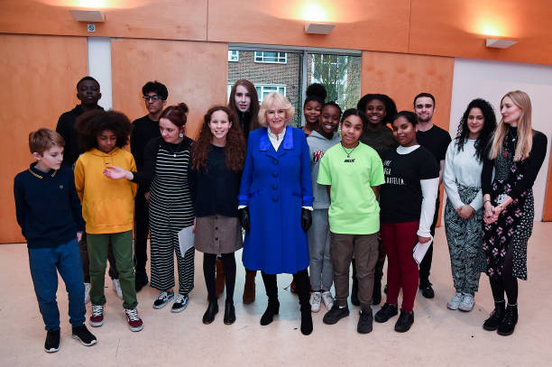 GBR: The Duchess Of Cornwall Visits Brent, The London 2020 Borough Of Culture