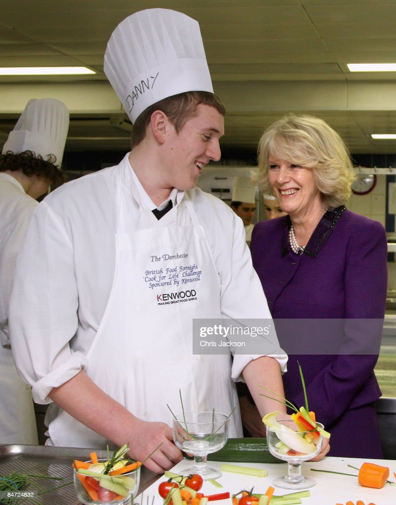 Duchess Of Cornwall Meets The Winning School Of Cook For Life ...