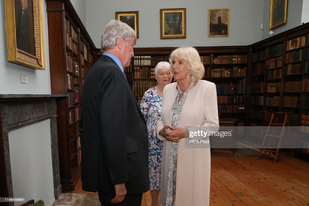 The Duchess Of Cornwall Visits Fulham Palace : News Photo