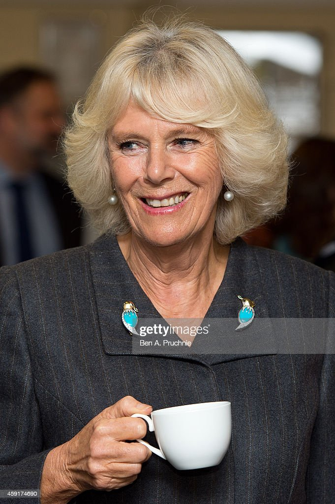 Duchess Of Cornwall Visits HMP Erlestoke : News Photo