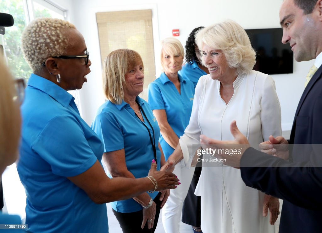The Prince Of Wales And Duchess Of Cornwall Visit The Cayman Islands : News Photo