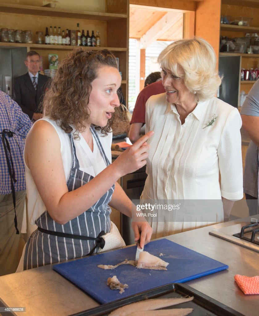 The Prince Of Wales and Duchess Of Cornwall Make An Official Visit To Devon : News Photo