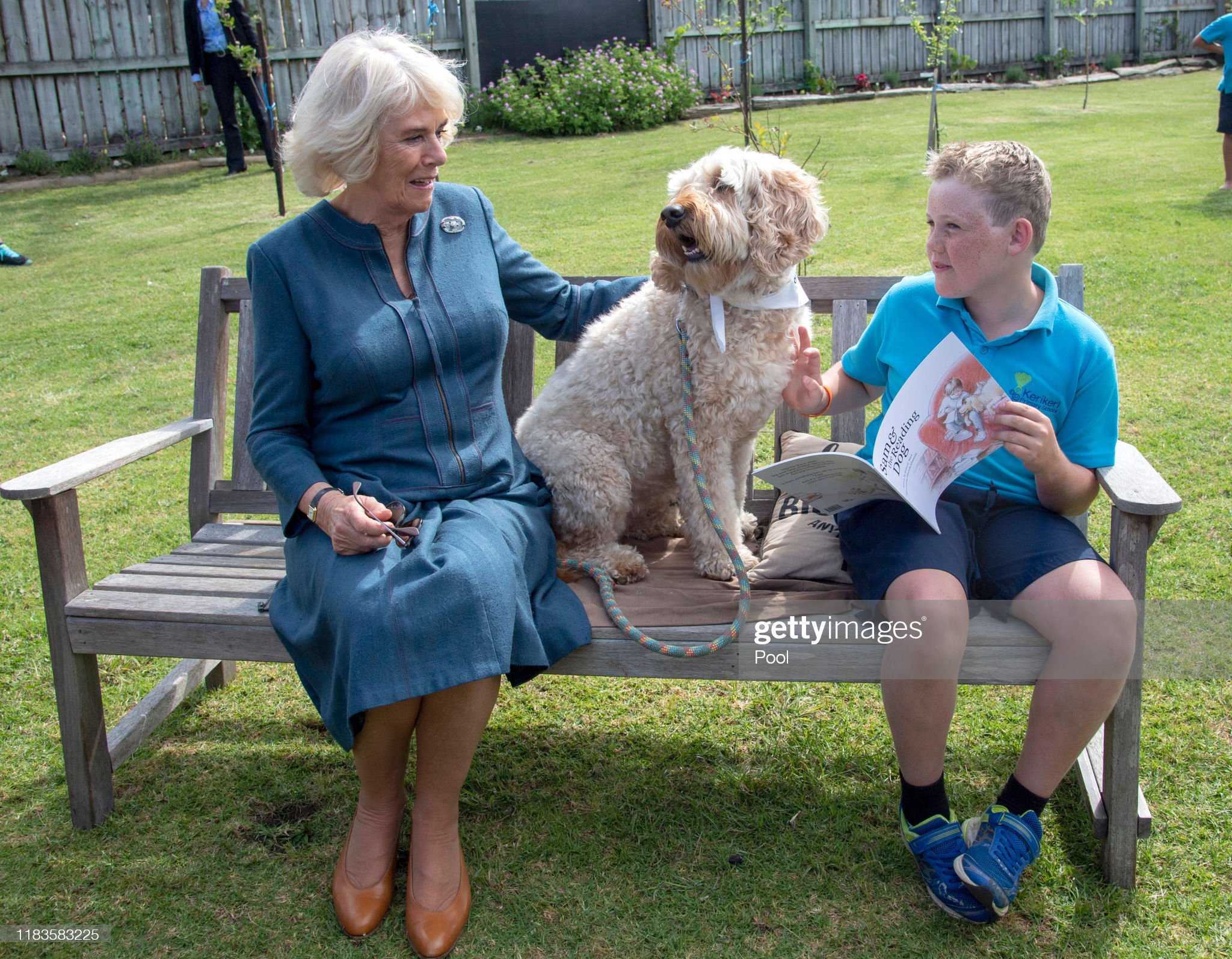 CASA REAL BRITÁNICA - Página 75 Camilla-duchess-of-cornwall-meets-the-schools-therapy-dog-meg-and-picture-id1183583225?s=2048x2048
