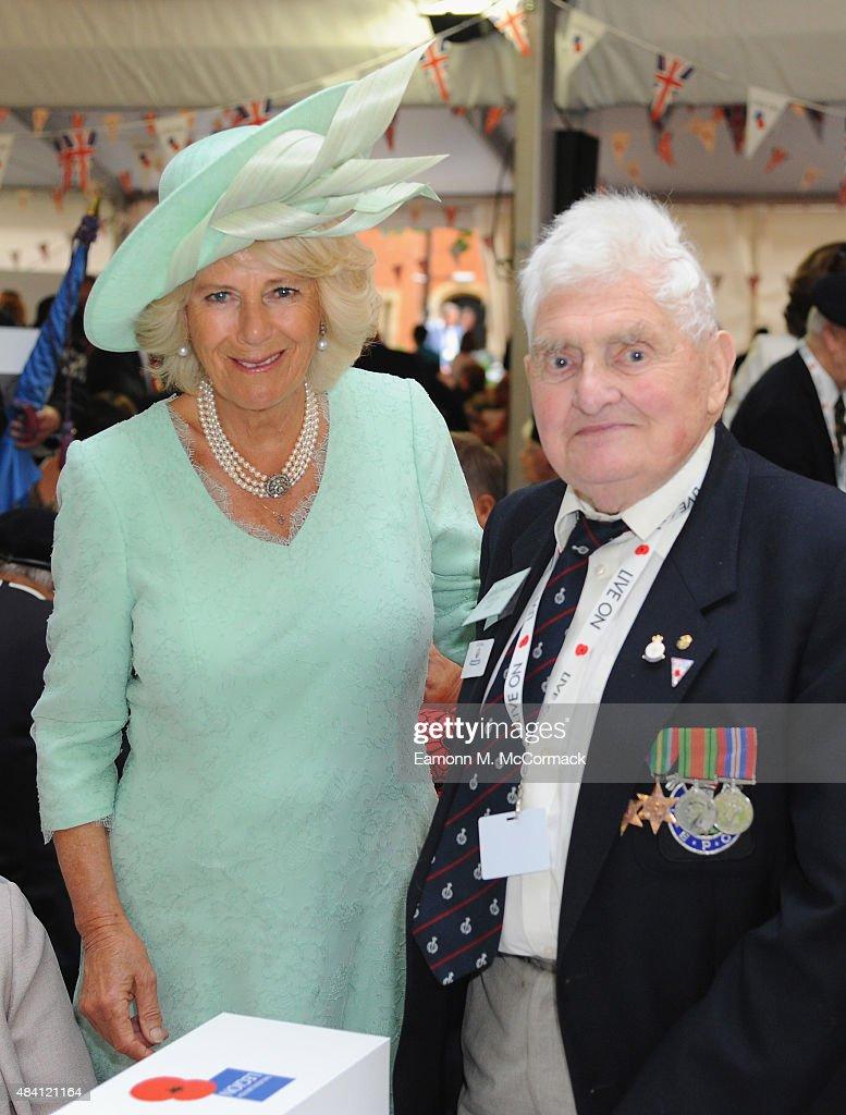 Britain Commemorates The 70th Anniversary Of VJ Day : News Photo
