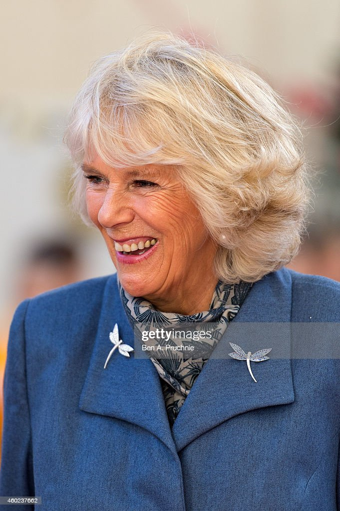 The Duchess Of Cornwall Undertakes Pre-Christmas Visit To St Albans : News Photo