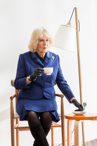 GBR: The Duchess Of Cornwall Undertakes Engagements In Sutton