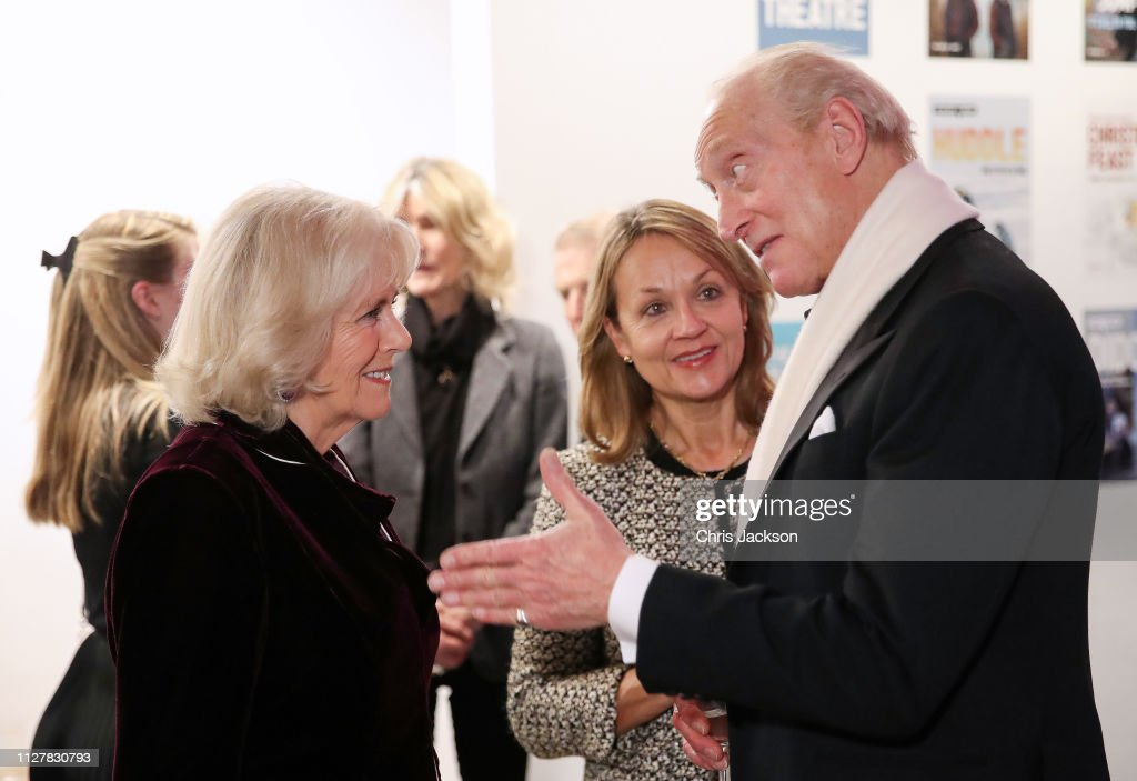 "GBR: The Duchess Of Cornwall Attends A Reception To Mark The Launch Of The ""Glorious Grandparents"" Initiative"