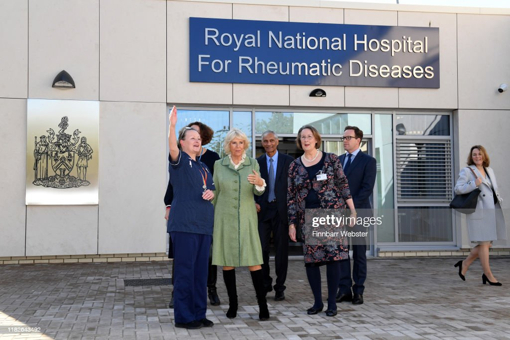 The Duchess Of Cornwall Visits Bath : News Photo