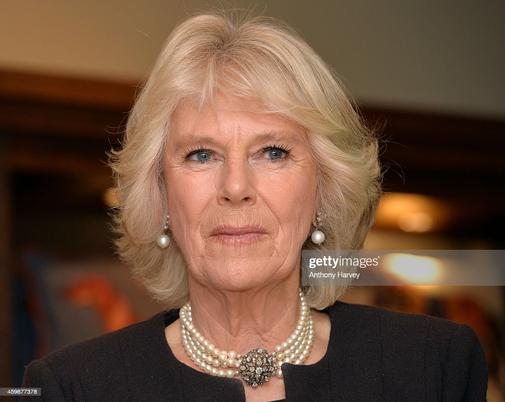 Duchess Of Cornwall Opens The Fine Cell Work Pop-Up Shop At Fortnum And Mason : News Photo