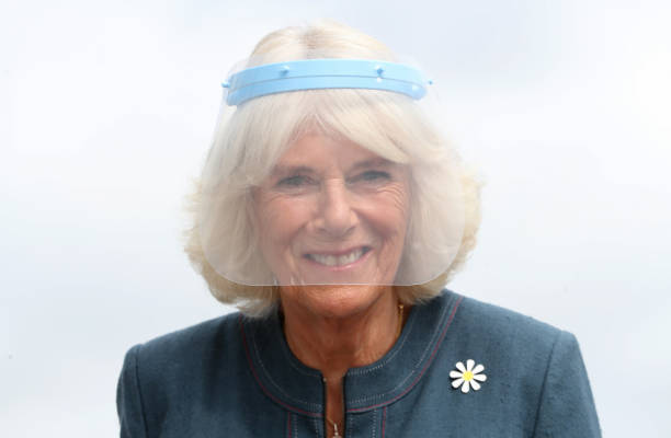 GBR: The Duchess Of Cornwall Visits Medical Detection Dogs