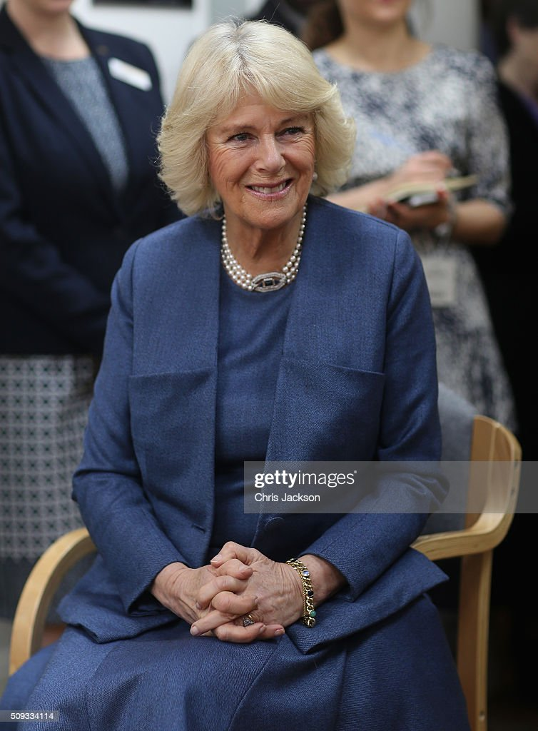The Duchess Of Cornwall Visits The Royal Trinity Hospice : News Photo