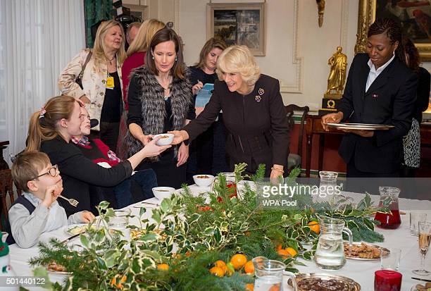 Camilla, Duchess of Cornwall, patron of the Helen & Douglas House and The London Taxidrivers' Fund invites underprivileged children from both...