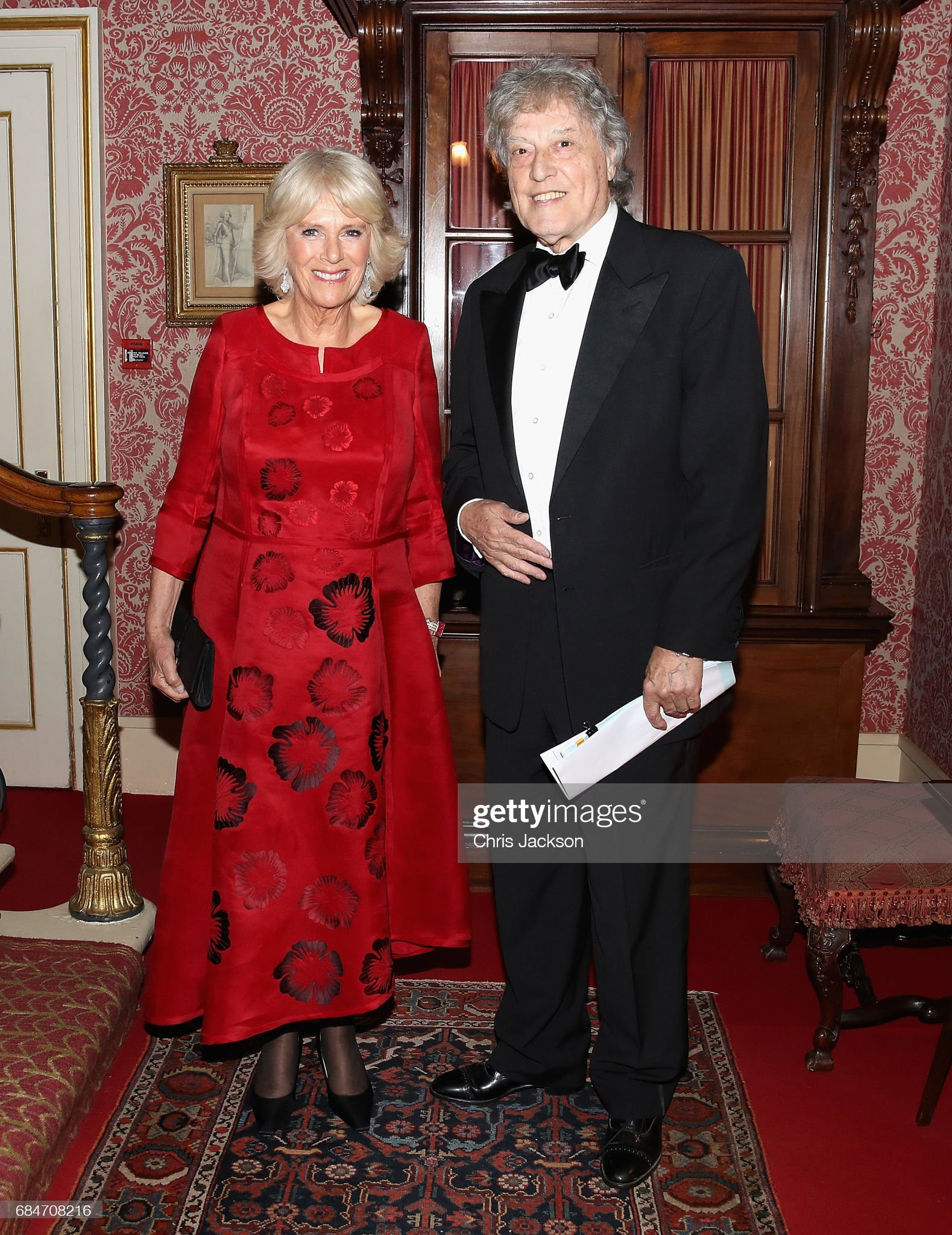 Duchess of Cornwall Hosts Dinner For The London Library At Clarence House : News Photo