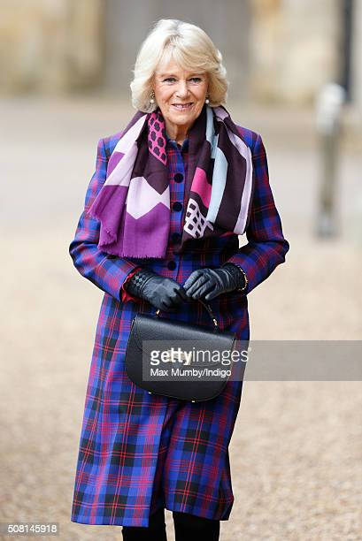 Camilla Duchess of Cornwall Patron of the National Literacy Trust attends a literature festival that celebrates the work of the National Literacy...