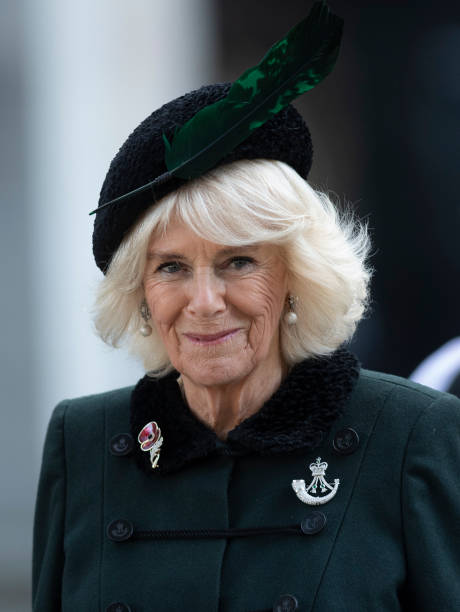 GBR: The Duchess Of Cornwall Attends The 92nd Field Of Remembrance At Westminster Abbey