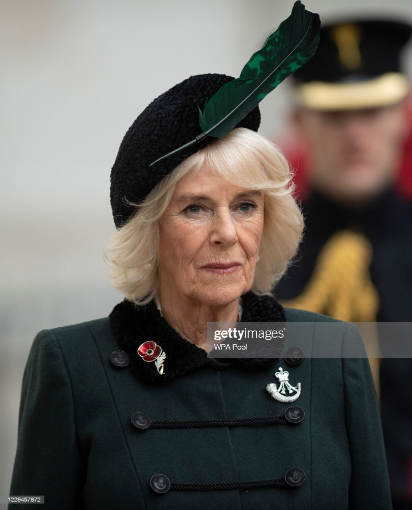 The Duchess Of Cornwall Attends The 92nd Field Of Remembrance At Westminster Abbey : News Photo