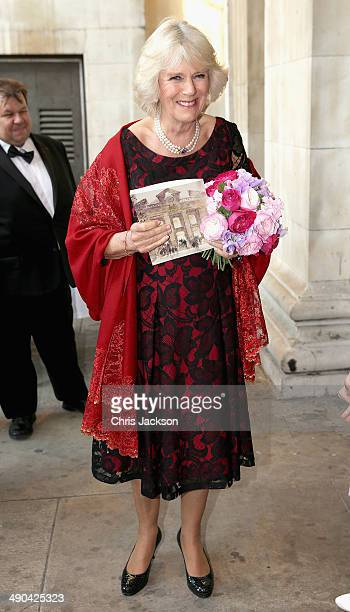 Camilla, Duchess of Cornwall, Patron St John's Smith Square, attends their 300th Anniversary Gala at St John's Smith Square on May 14, 2014 in...