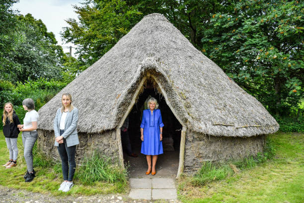 GBR: The Duchess Of Cornwall Undertakes Engagements In Wiltshire
