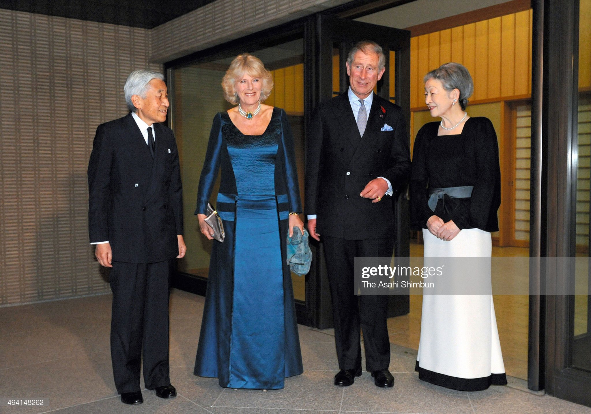 Prince Charles And Duchess Of Cornwall Visit Japan - Day 2 : News Photo