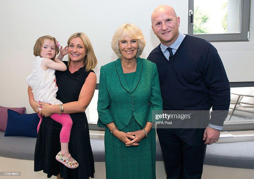 Camilla, Duchess of Cornwall Visits Swansea