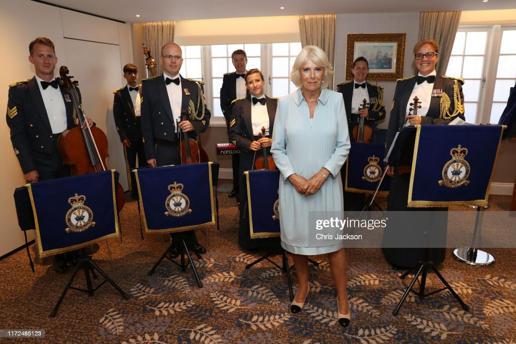 The Duchess Of Cornwall Undertakes Engagements At The Victory Services Club : News Photo