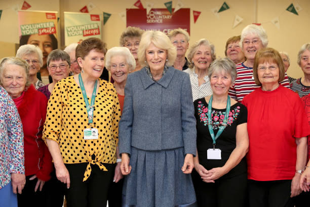 GBR: The Duchess Of Cornwall Visits Banbury
