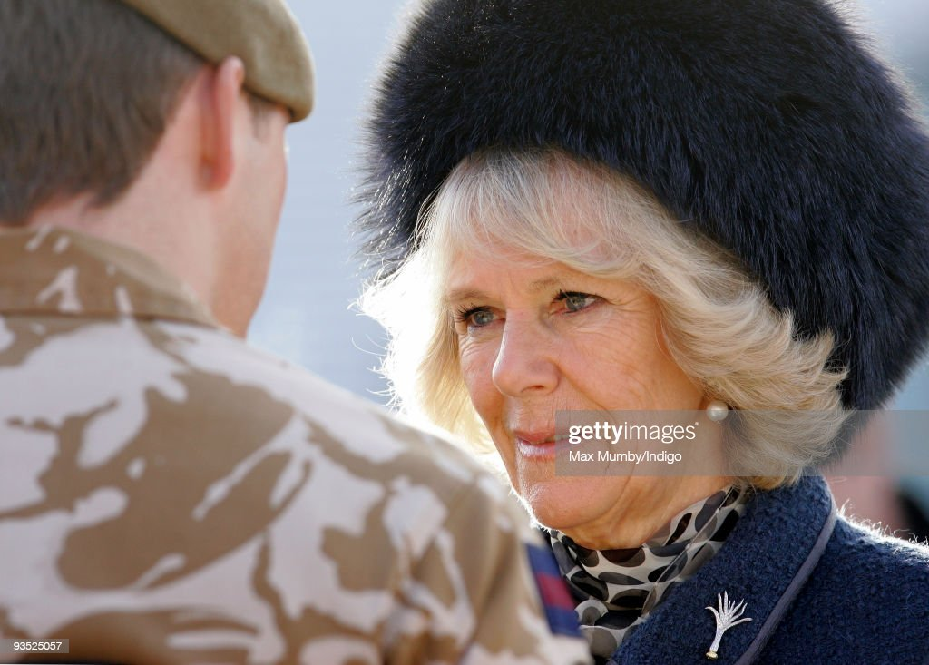 Prince Of Wales & Duchess Of Cornwall Present Medals To Welsh Guards : News Photo
