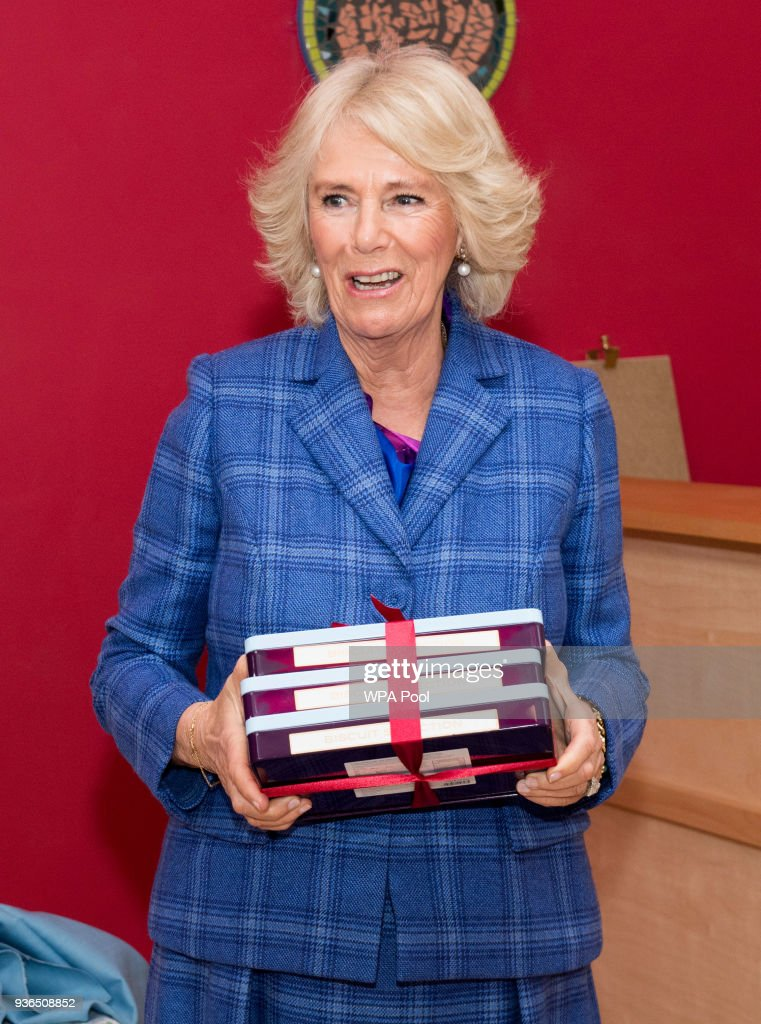The Duchess Of Cornwall Visits The Fair Day Centre