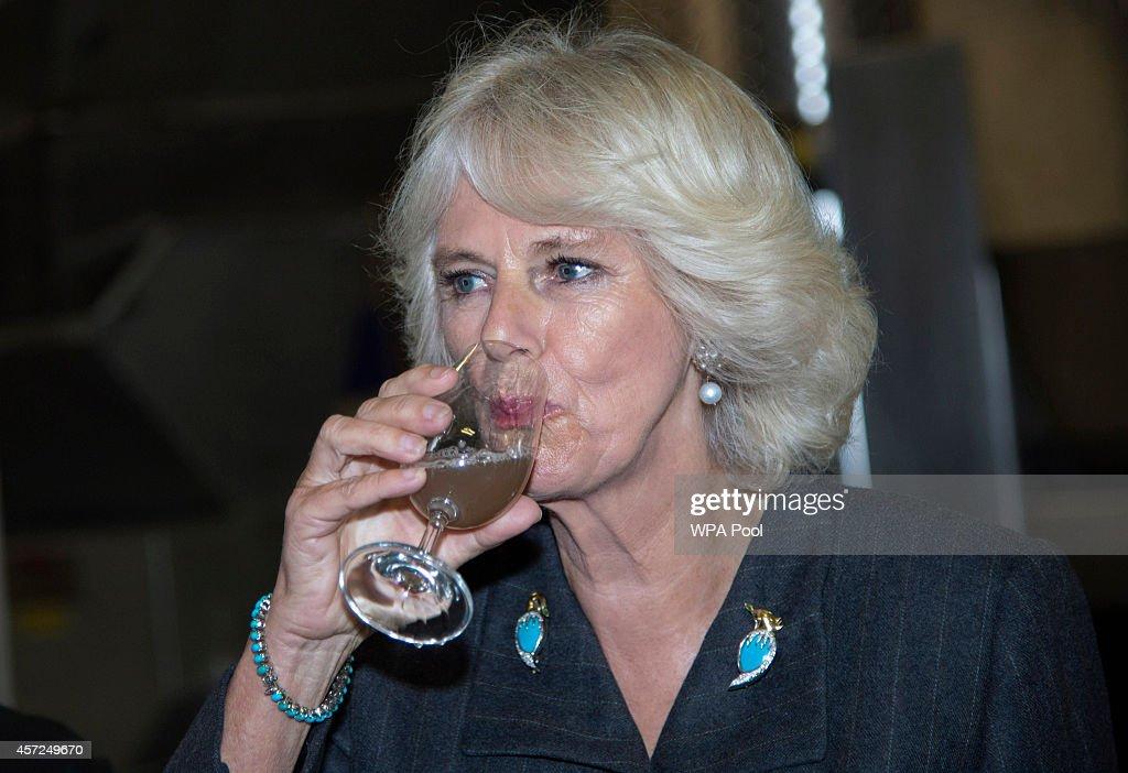 Duchess Of Cornwall Visits Kent : News Photo