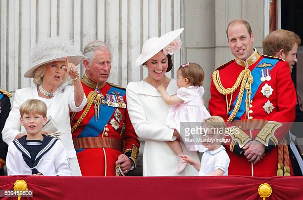 Camilla Duchess of Cornwall Prince Charles Prince of Wales Catherine Duchess of Cambridge Princess Charlotte of Cambridge Prince George of Cambridge...