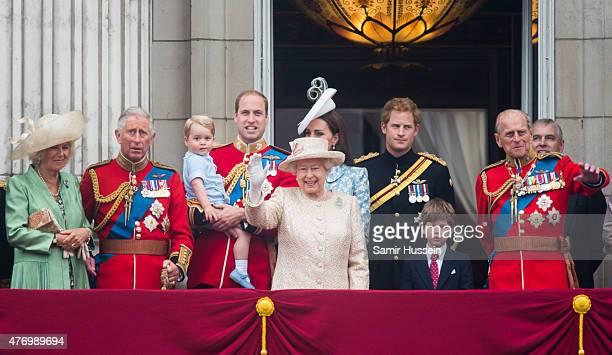 Camilla Duchess of Cornwall Prince Charles Prince of Wales Prince George of Cambridge Prince William Duke of Cambridge Catherine Duchess of Cambridge...