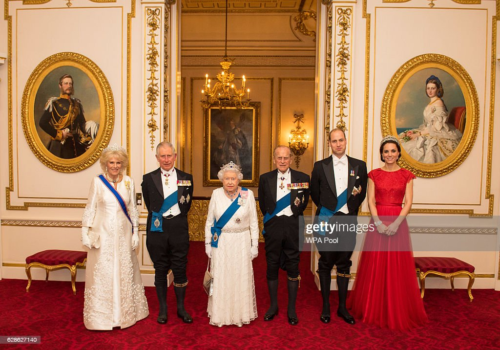 The Annual Diplomatic Corps Reception At Buckingham Palace : News Photo