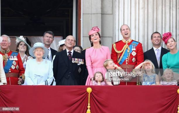 Camilla Duchess of Cornwall Prince Charles Prince of Wales Queen Elizabeth II Prince Philip Duke of Edinburgh Catherine Duchess of Cambridge Princess...