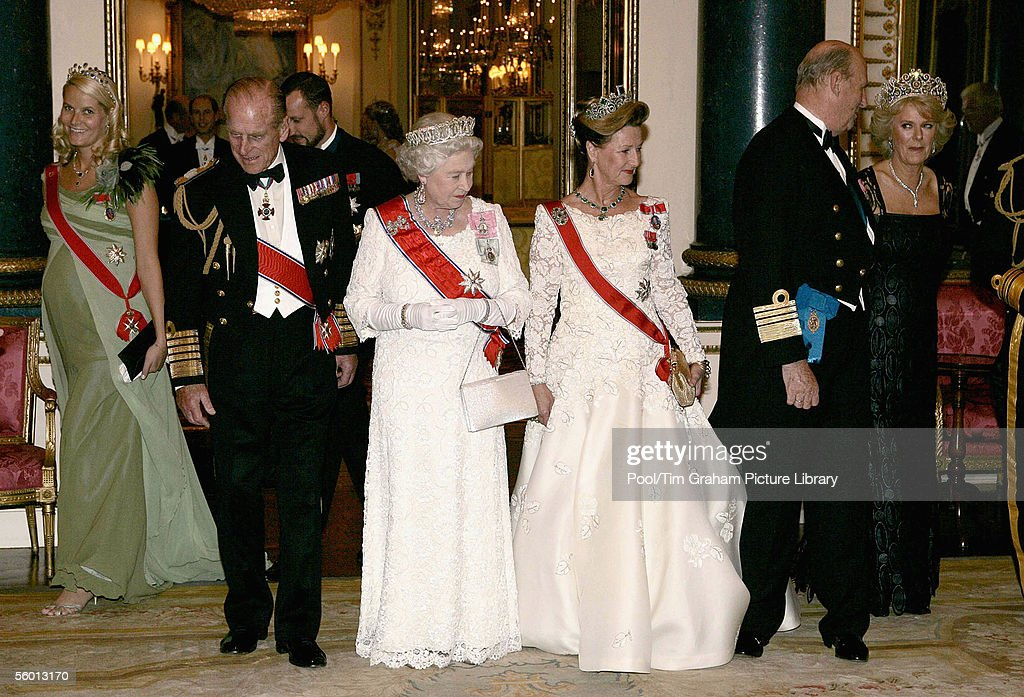 Buckingham Palace Banquet : News Photo