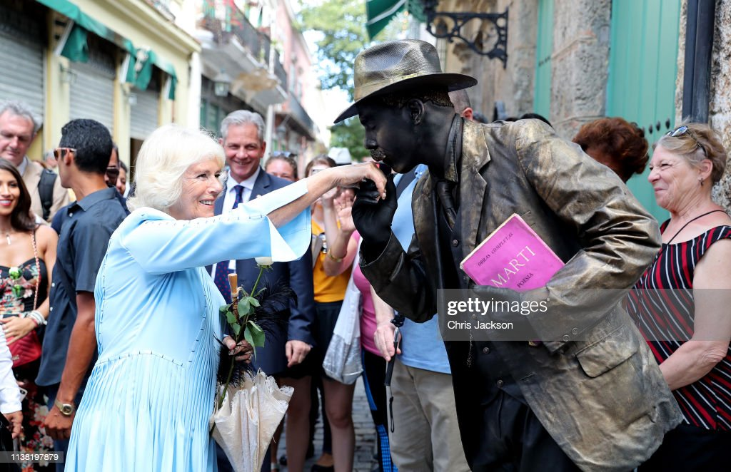 CUB: The Prince Of Wales And Duchess Of Cornwall Visit Cuba