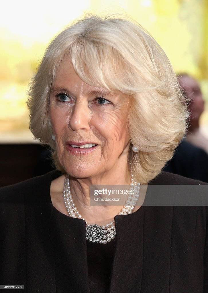 The Duchess Of Cornwall Attends A Reception To Mark Australia Day : News Photo