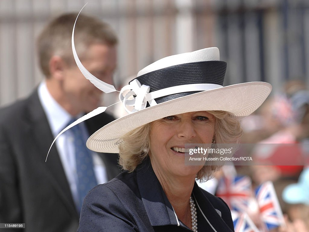 """HRH The Duchess of Cornwall in Naming Ceremony for Nuclear Submarine """"Astute"""" - June 8, 2007 : News Photo"""